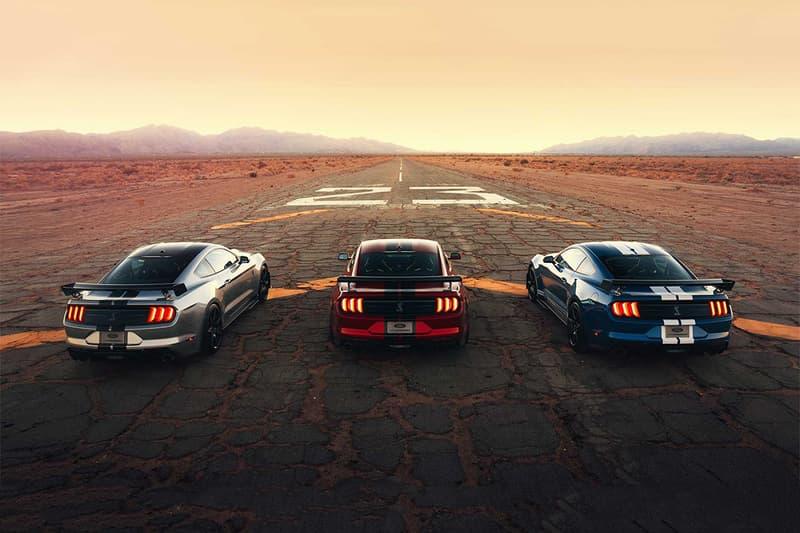 搶先預覽 Ford 2020 年式樣 Mustang Shelby GT500 最新面貌