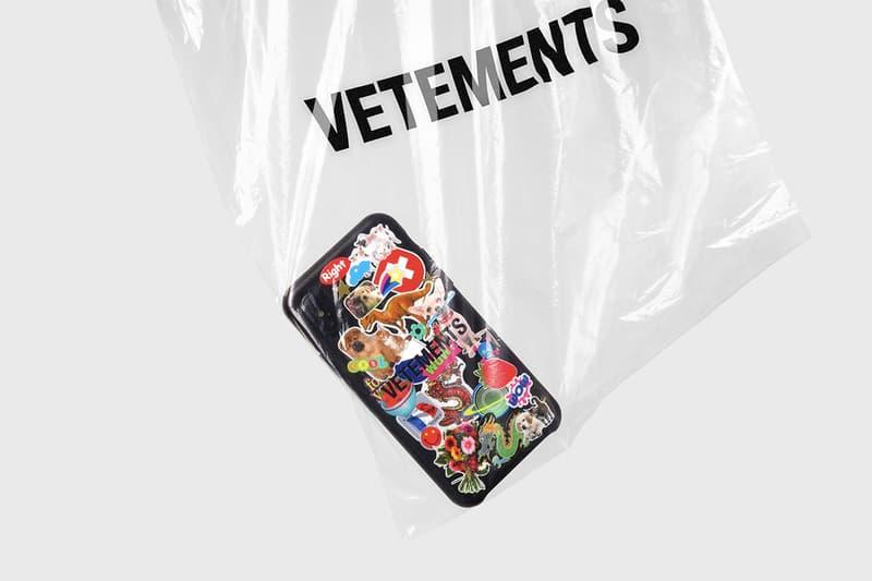 高街聯乘-CASETiFY x Vetements 推出別注版手機殼