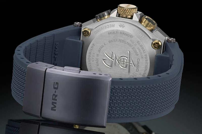 日本刀匠謹製-G-SHOCK 頂級錶款 MR-G 全新「重力丸」限量登場!