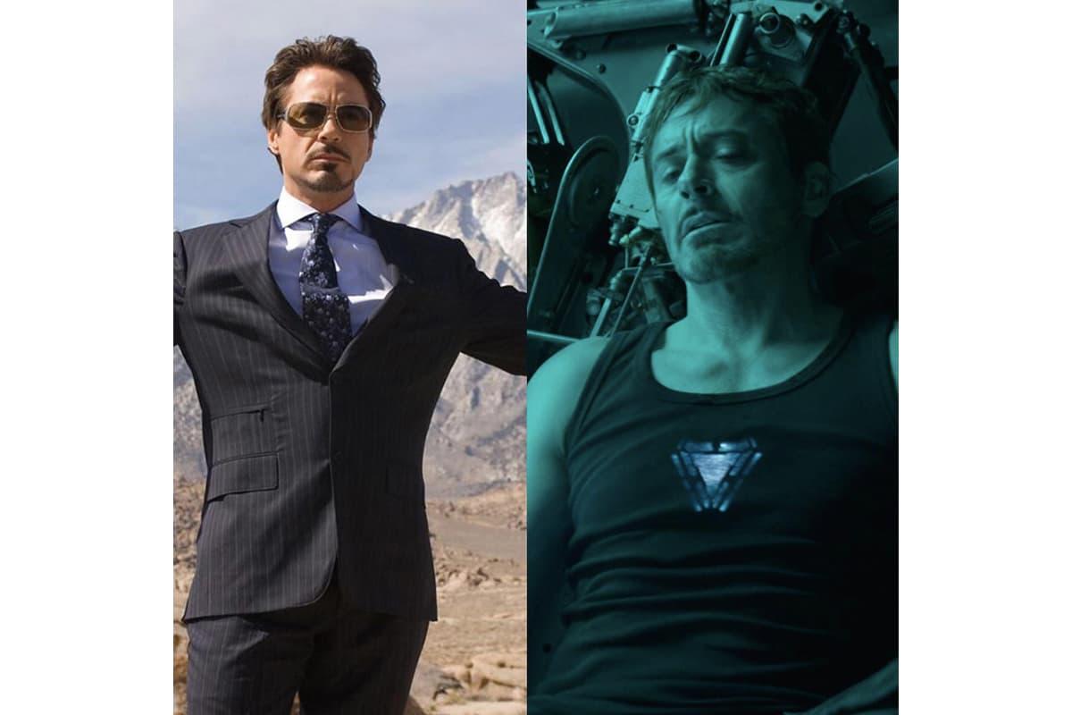 #10YearsChallenge-Marvel Studios 也為復仇者成員們製作十年對比圖