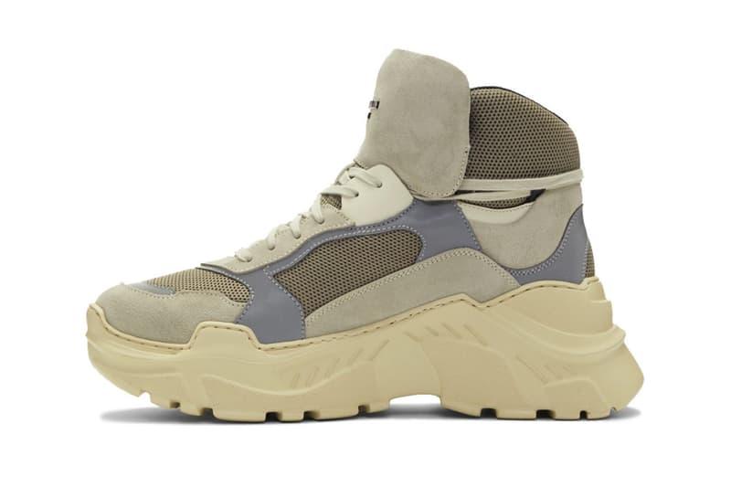 Balmain 全新 Joan Sneaker 高筒球鞋上架