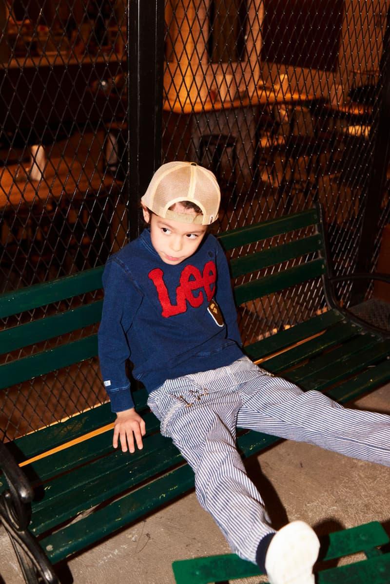 BAPE KIDS x Lee Jeans 2019 聯名別注系列上架