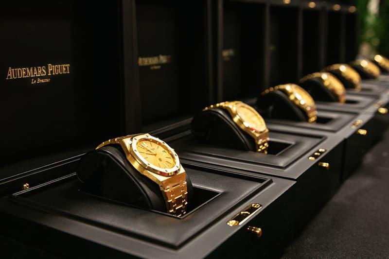 豪氣放送 − Bruno Mars 贈予樂團全員 Audemars Piguet 18K 金腕錶