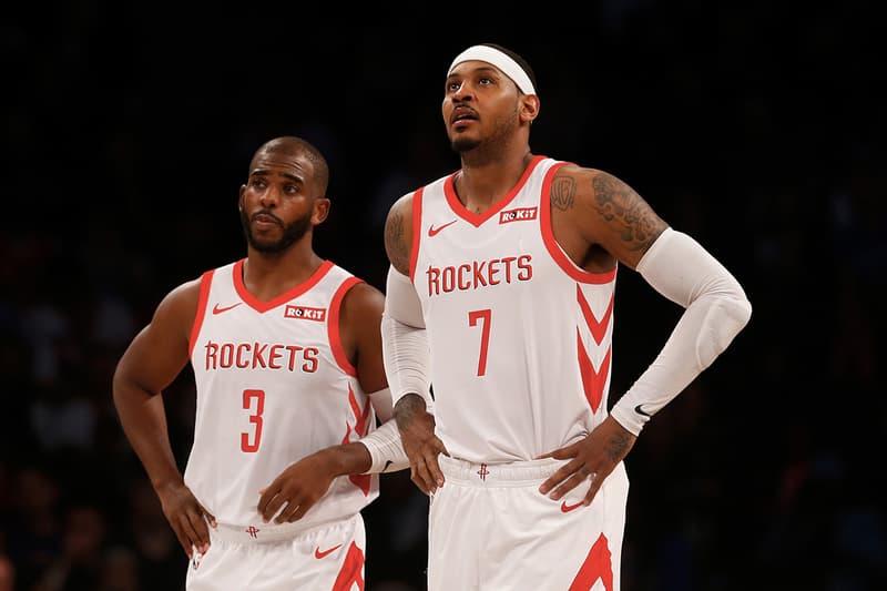 繼續等待機會!Carmelo Anthony 確認遭 Houston Rockets 交易至 Chicago Bulls