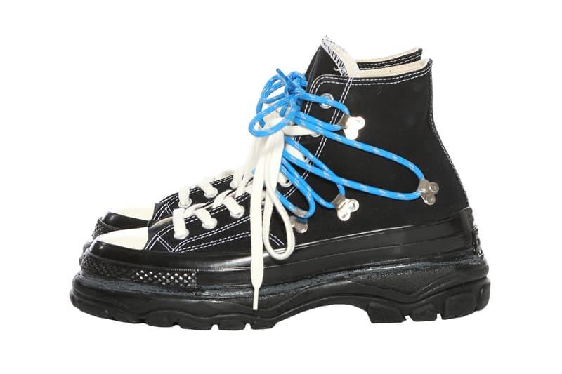 搶先預覽 Eastwood Danso x Converse 聯乘 Chuck Taylor 登山靴