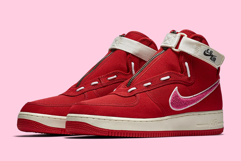 情人節不要說穿!Emotionally Unavailable 聯乘 Nike Air Force 1 High 亮相