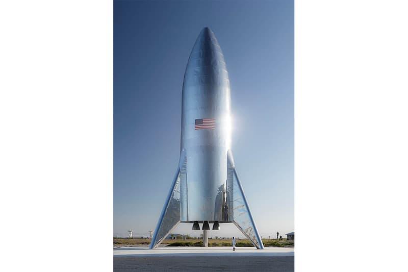 組裝完成!Elon Musk 發佈 SpaceX 太空船 Starship 實物照片