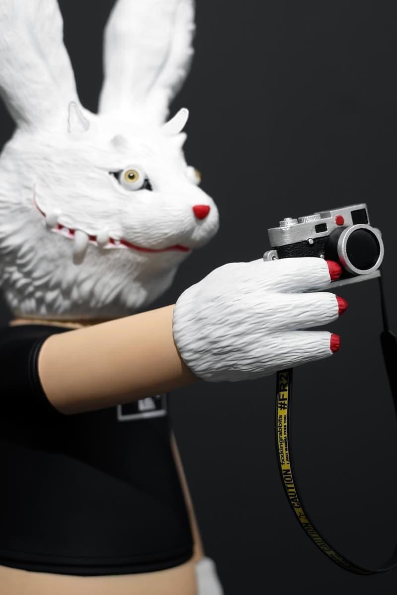跨界創作-Fxxking Rabbits x T9G 聯乘兔子搪膠模型