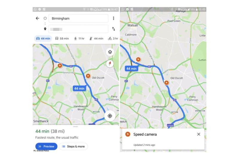 駕駛福音-Google Map 將推出超速照相機提示功能