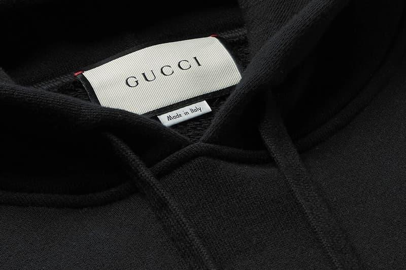添購新裝 − Gucci 全像圖 Logo 印花 Hoodie 上架