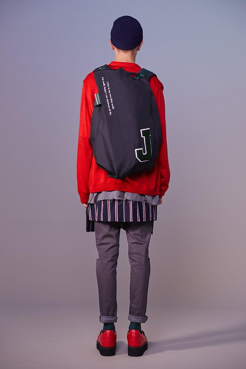 Côte&Ciel x JohnUNDERCOVER 攜手打造學院風別注背包