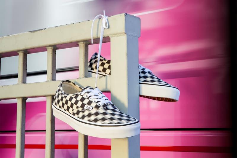 不妨濛一點-Vans「Blur Check」系列鞋款全亮相