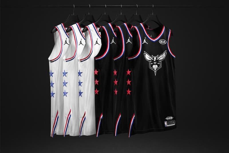 Jordan Brand 發佈 NBA 全明星賽別注球衣系列