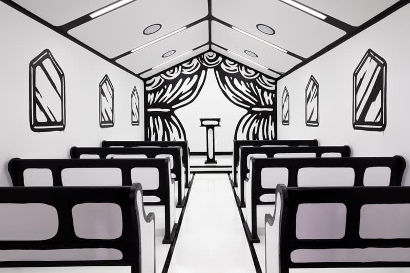 Joshua Vides 於拉斯維加斯打造「二次元」婚禮教堂