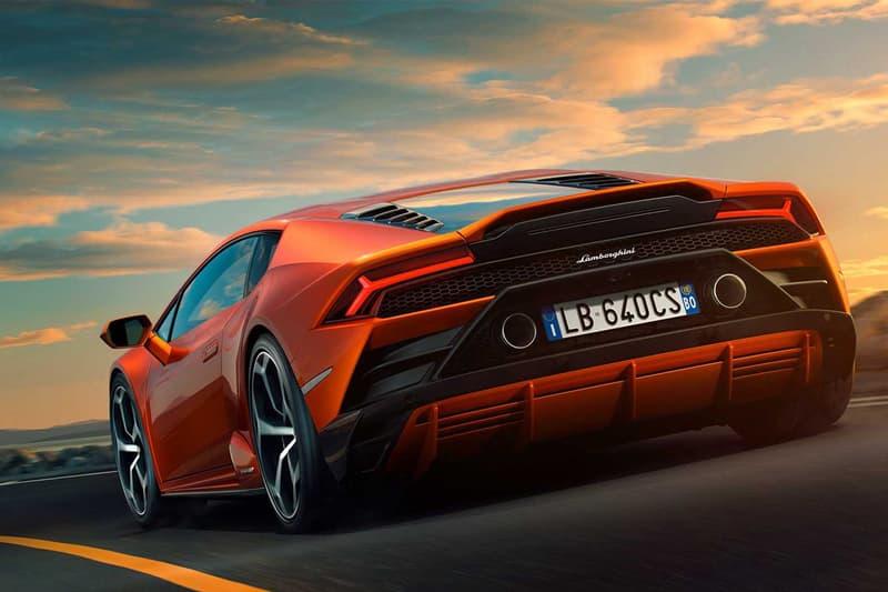 世代更迭 − Lamborghini 2019 年全新改款 Huracán EVO 登場