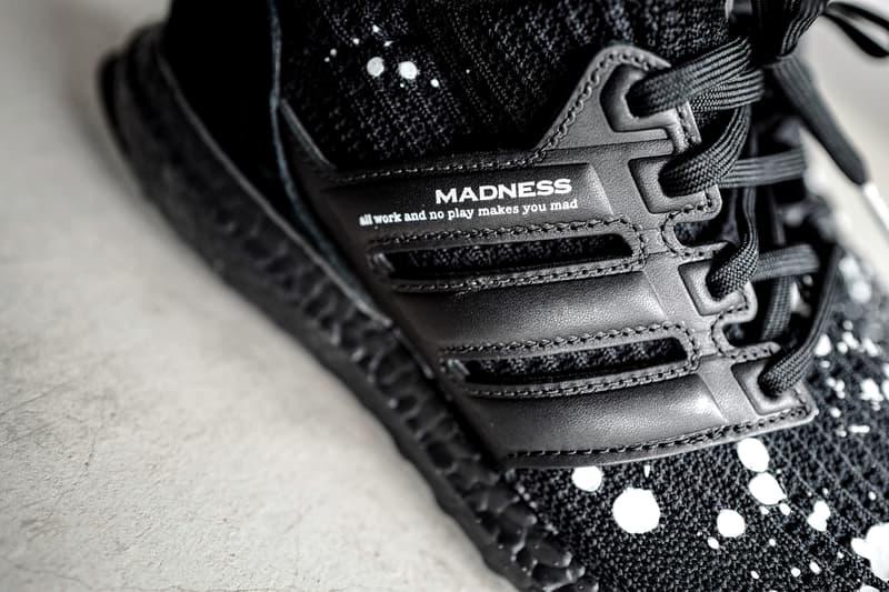 近賞 MADNESS x adidas 全新聯乘「暗黑」配色 UltraBOOST