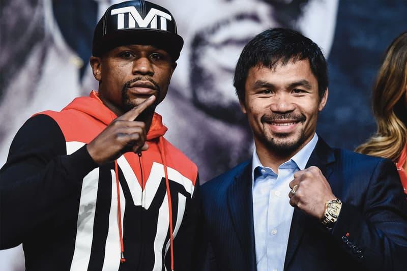 菲律賓拳王 Manny Pacquiao 出言諷刺 Floyd Mayweather 勝之不武