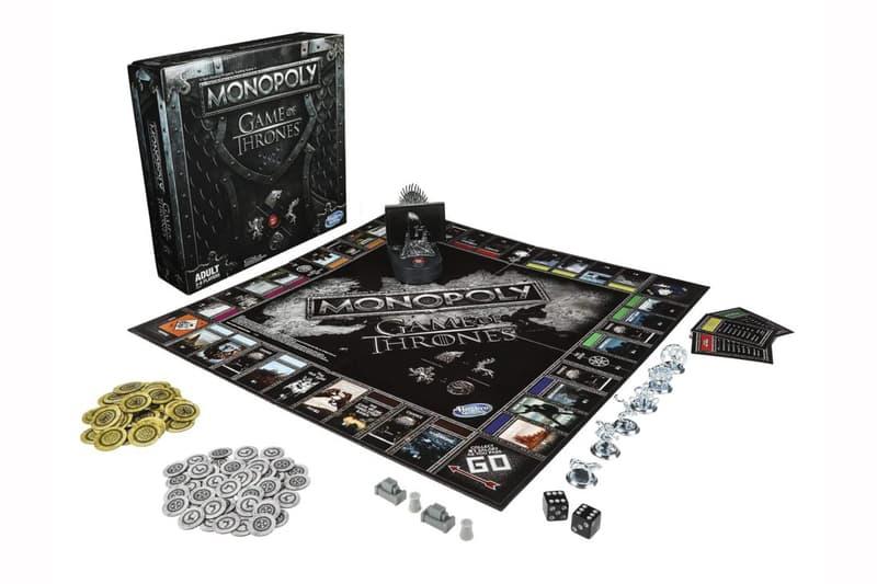 Monopoly x《Game of Thrones》再聯乘版本今月登場