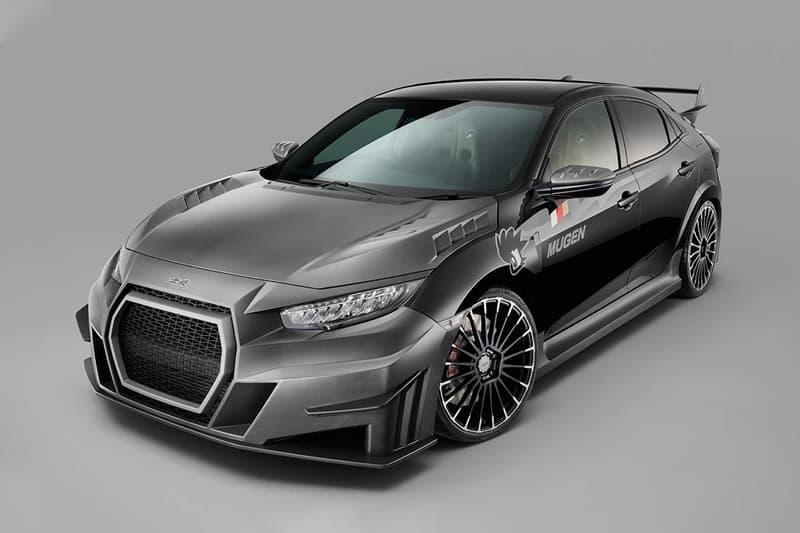 近賞 Mugen 打造 Honda 全新 Civic Type R 改裝版本
