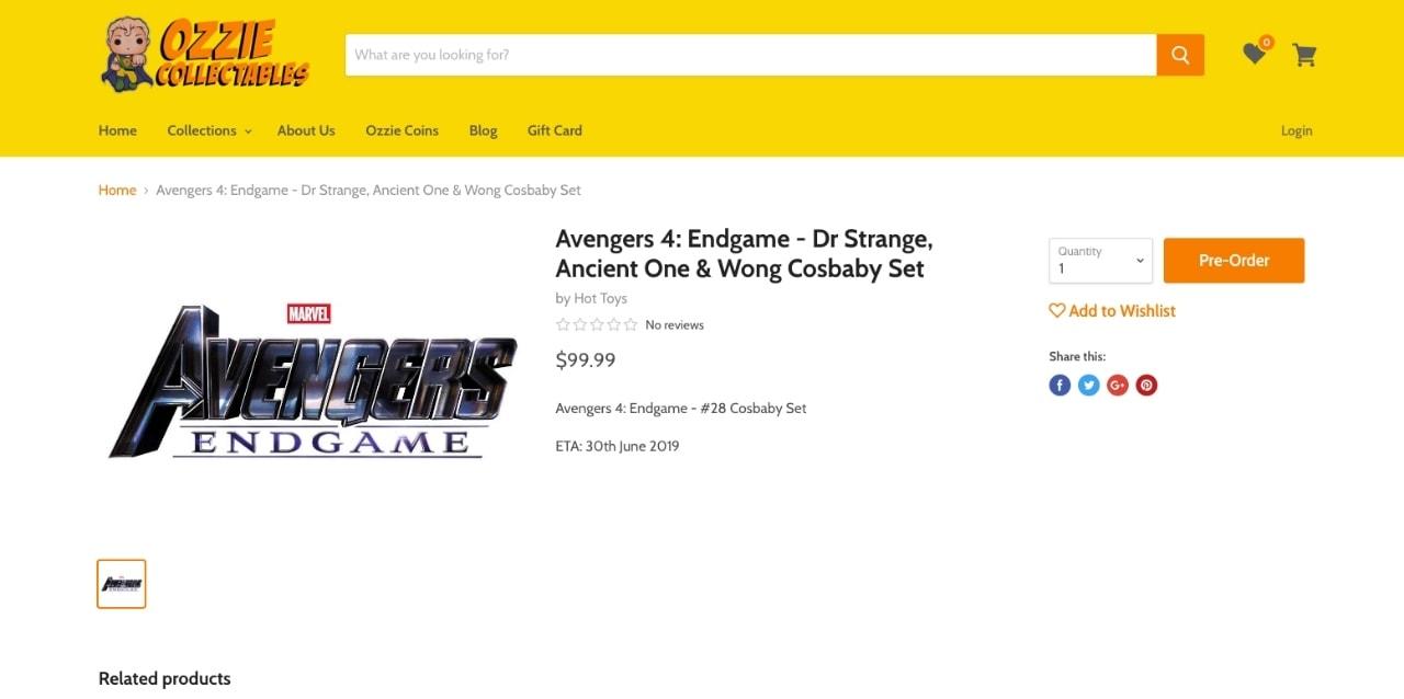 《Avengers: Endgame》電影週邊玩具再揭示死亡角色「復活」?!