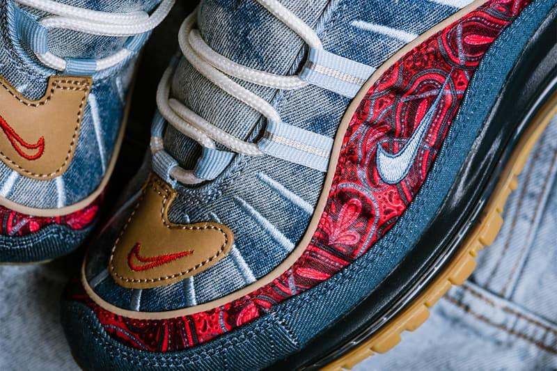 近賞 Nike Air Max 98 全新配色設計「Wild West」