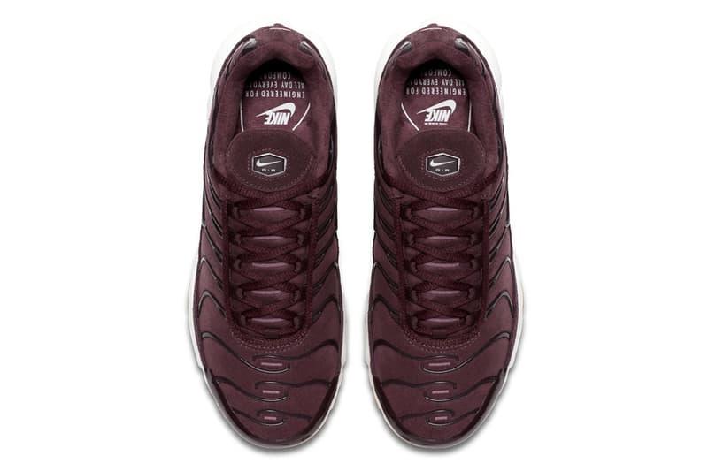 Nike Air Max Plus SE 全新「Bordeaux」配色登場