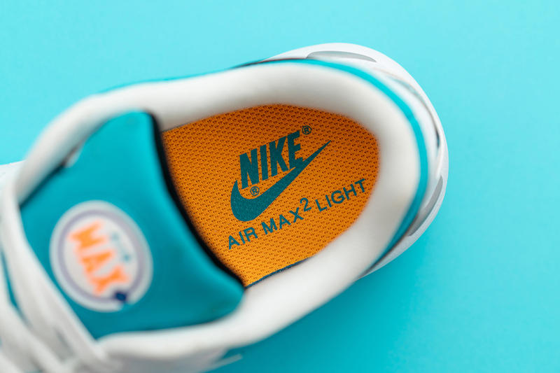 Nike Air Max2 Light 全新配色設計「Blue Lagoon」