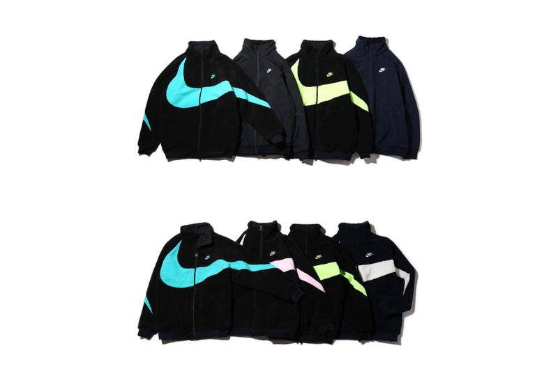 大行其道-Nike 為巨型 Swoosh 雙面外套加推全新配色
