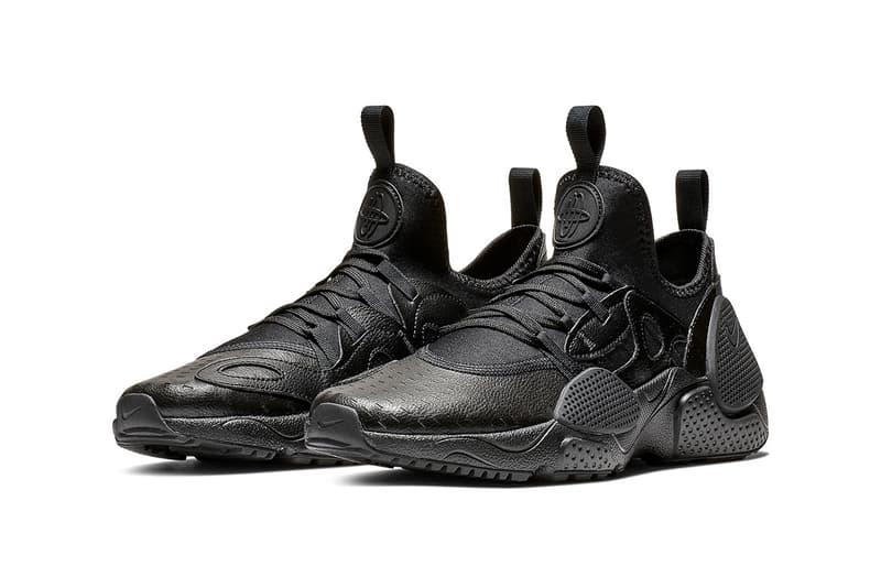 Nike Huarache EDGE 全新配色「Black Leather」