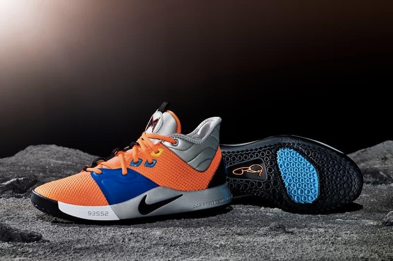 與 NASA 聯手!Paul George 最新個人鞋款 Nike PG3 正式發佈
