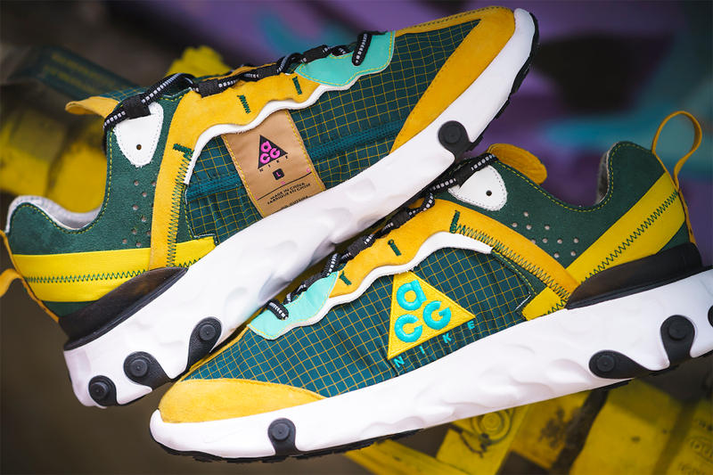 BespokeIND 打造 Nike React Element 87「ACG Ripstop Pack」定製系列