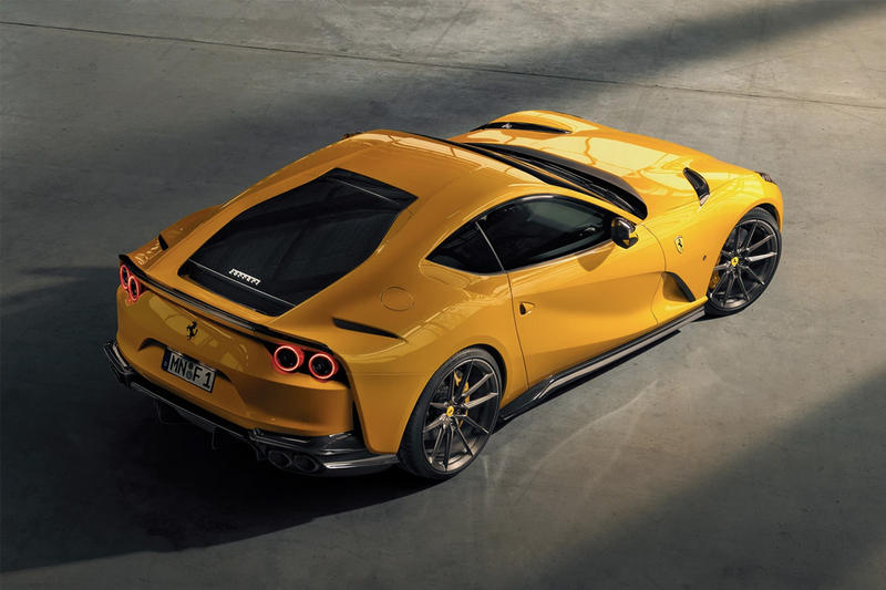 NOVITEC 打造 Ferrari 812 Superfast 全新改裝版本
