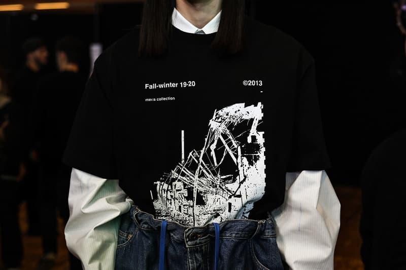 巴黎時裝周 − 走進 Off-White™ 2019 秋冬系列發佈會後台