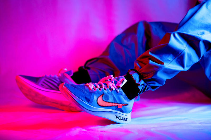 疑似 Off-White™️ x Nike Zoom Fly 全新配色曝光