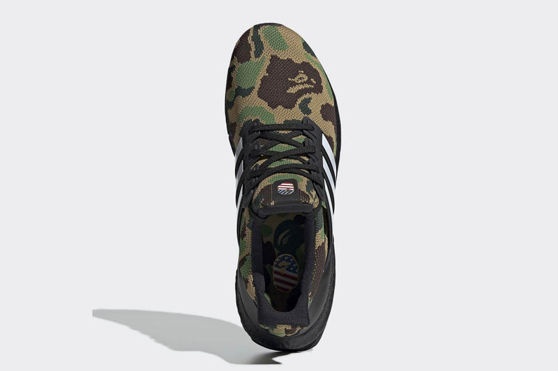 A BATHING APE® x adidas UltraBOOST 鞋款官方圖片公開