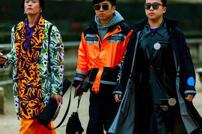 Street Style: 2019 秋冬巴黎男裝周街拍特輯 Part 3