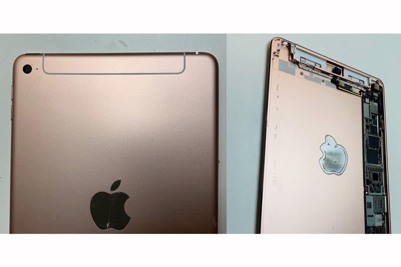 天線重設-Apple iPad mini 5 背殼實物曝光?!