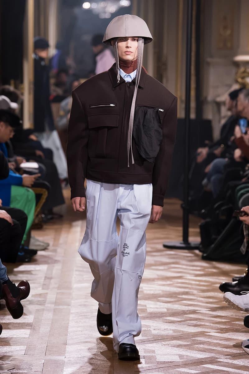 巴黎時裝周 − 離開 Calvin Klein 的首秀!Raf Simons 發佈 2019 秋冬系列