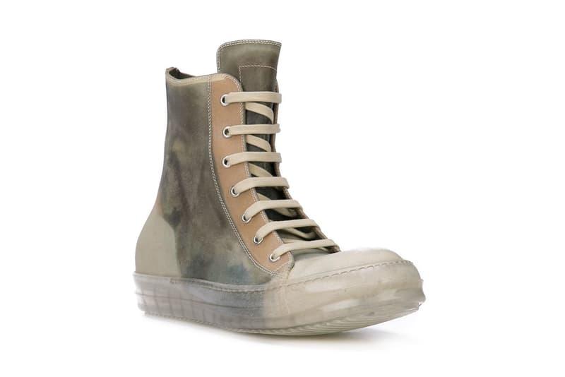 Rick Owens 推出全新 Geobasket 及 Bable 高筒鞋款