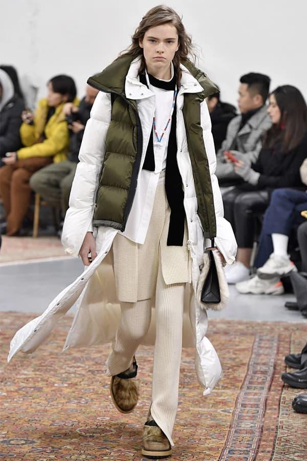 巴黎時裝周 − sacai 發佈 2019 秋冬系列