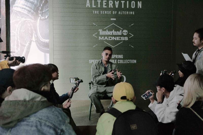 Timberland 跟 MADNESS 聯手「空投」匯演
