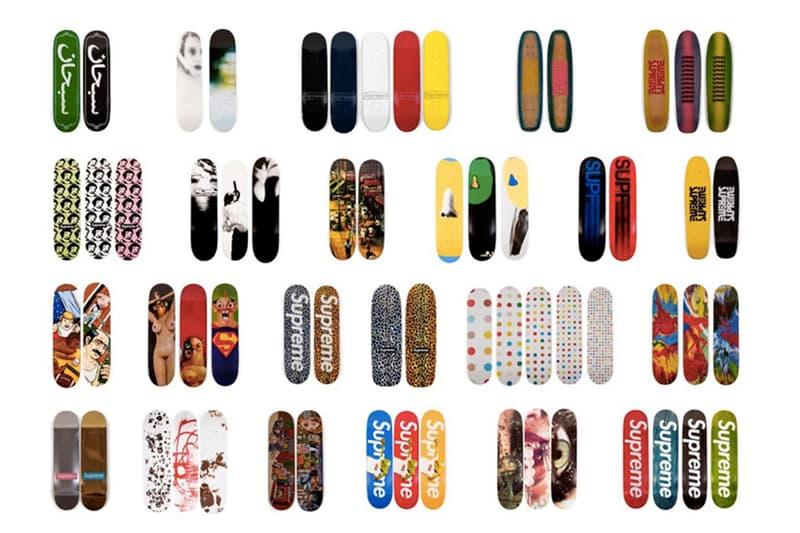 價值百萬美元 − Supreme 神級藏家出售其 20 年滑板收藏