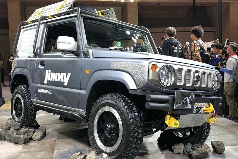 SUZUKI 自家爆改新世代 Jimny 實車亮相東京車展