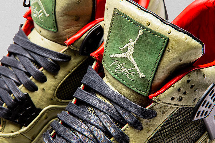 The Shoe Surgeon 打造全新 Air Jordan 4「Cactus Jack」客製版本