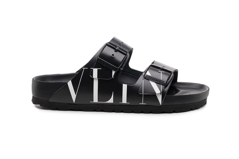 Valentino x Birkenstock 聯乘 Arizona 涼鞋系列登場
