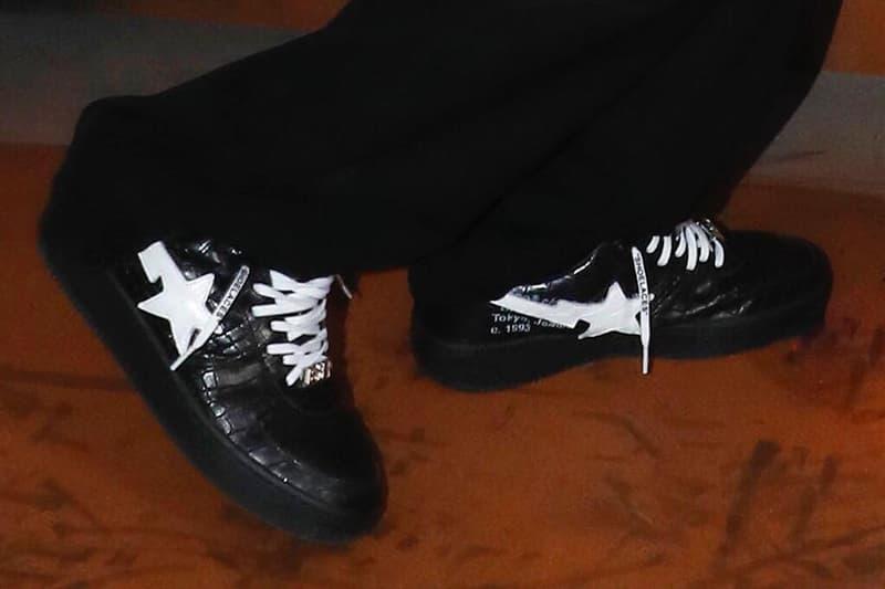 Virgil Abloh 曝光 Off-White™ x A BATHING APE® 聯乘 BAPESTA 鞋款