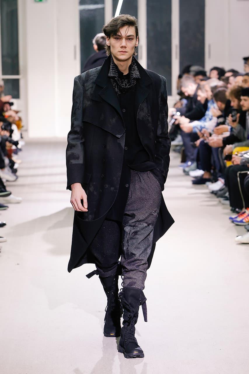巴黎時裝周 − Yohji Yamamoto 發佈 2019 秋冬系列