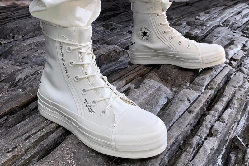 Yoon 率先曝光 AMBUSH x Converse 秋冬聯乘鞋款