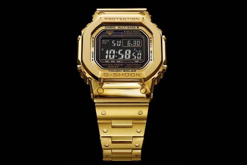 定價確認!究極奢華之 18K 純金 G-Shock DW-5000 發售情報公開