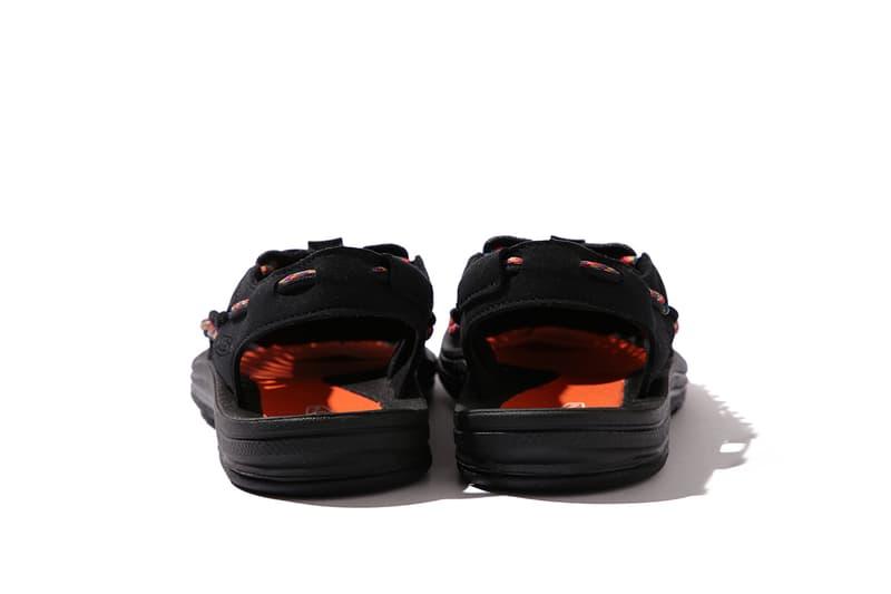 BEAMS x KEEN 攜手推出「7COLOR」別注 UNEEK 鞋款